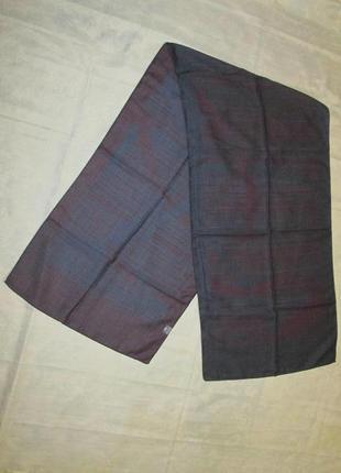 Шерстяной мужской шарф epca 100% new zeland wool