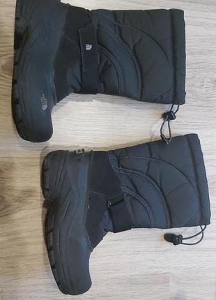 The north face зимові фірмові чоботи