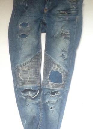 Узкие джинсы,pull&bear