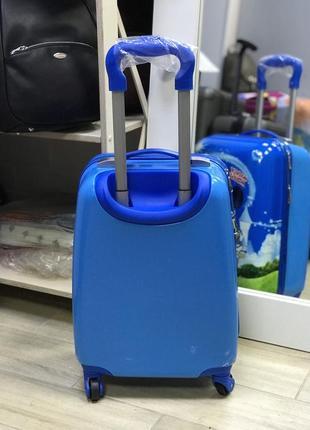 Уценка! детский пластиковый чемодан с микки маусом2 фото