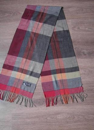 Мягкий в клетку шарф design.