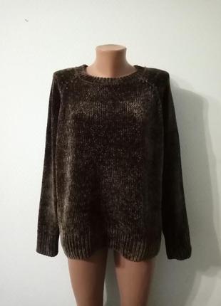 Супер мягкий плюшевый свитер george.