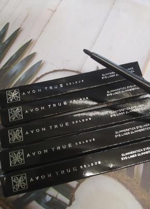 Кремовий стійкий олівець для очей від avon