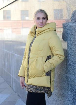 Зимняя куртка парка рр 54