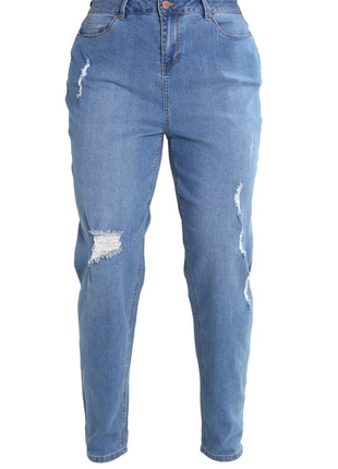 Новые джинсы бойфренды, стрейтч new look, р. eu52, наш 58
