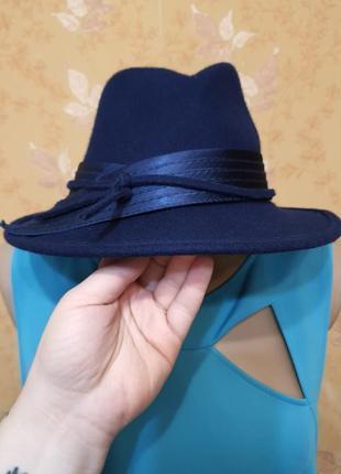 Дамская шляпка 100% шерсть