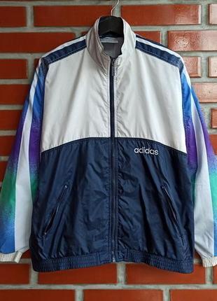 Adidas vintage мужская олимпийка кофта винтаж размер l адидас б у