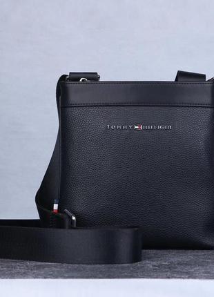 Мужская сумка tommy hilfiger аксессуар подарок наложенный платёж