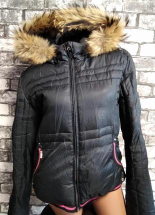 Очень теплая зимняя куртка пуховик outventure, 46 размер