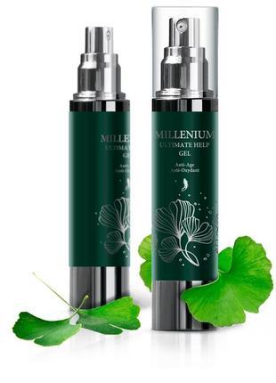 M-gel натуральный ингредиент ,корень женьшеня- омолаживающий гель-антиоксидант для лица