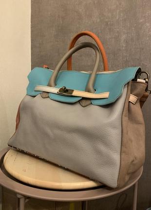 Нова шкіряна сумка (італія)