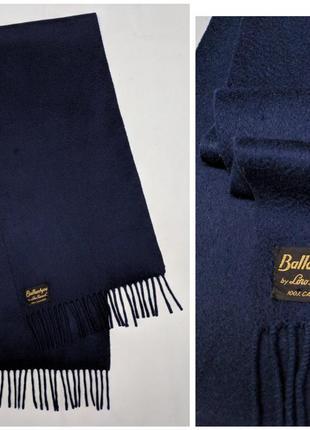 Loro piana ballantyne кашемировый винтажный шарф