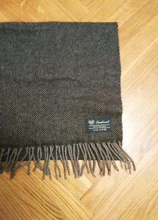 Шерстяной мужской шарф  gamswool италия