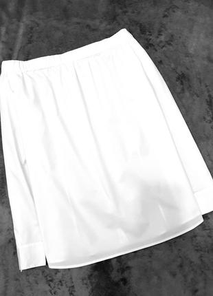 Hugo boss оригинал блуза блузка белая 14 42 пог 58 см