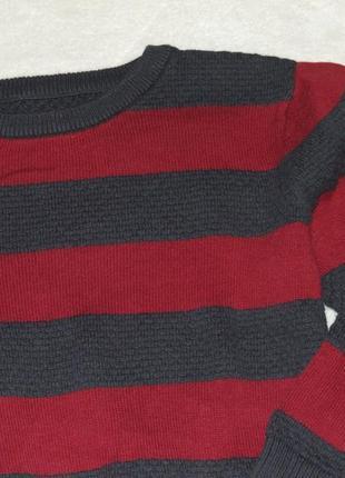 Кофта хлопковый свитер 3 - 4 года matalan2 фото