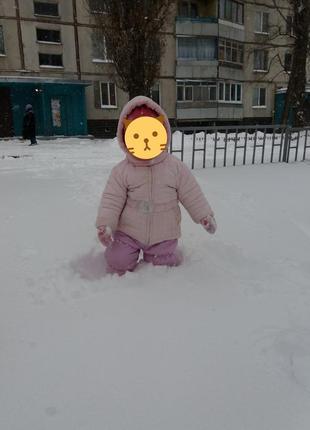 Детский зимний комплект wojcik 86см