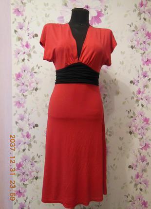 Восхитительное алое платье jane norman