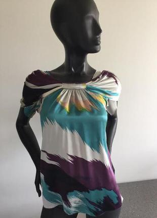 Шелковая блуза ted baker 1(6-8 размер)