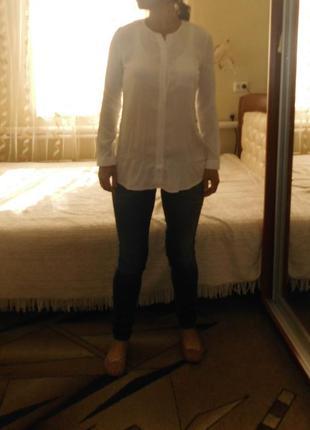 Белая рубашка opus  на 46