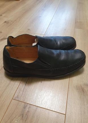 Кожаные туфли италия