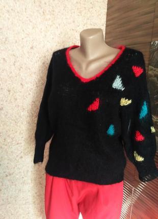 Тонкий махеровый свитерок