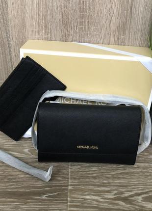 Сумка  michael michael kors saffiano leather 3-in-1 crossbody оригинал