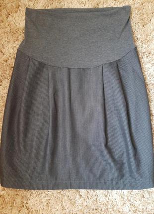 Теплая юбка для беременых