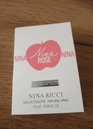 Nina ricci nina rose туалетная вода
