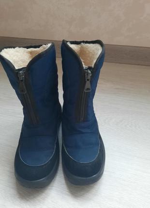 Продам якісні та теплі чоботи р. 33 (20-21см)