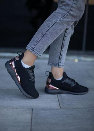 Шикарные женские кроссовки puma muse