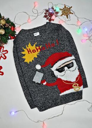 Новогодний свитер на 2-4 г, состояние идеальное
