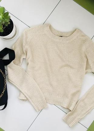 Кофта h&m базовая кофта свитер кемел