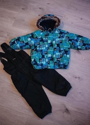 Зимова куртка lenne з комбінезоном