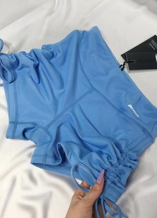Новые спортивные шортики с завязками , размер с
