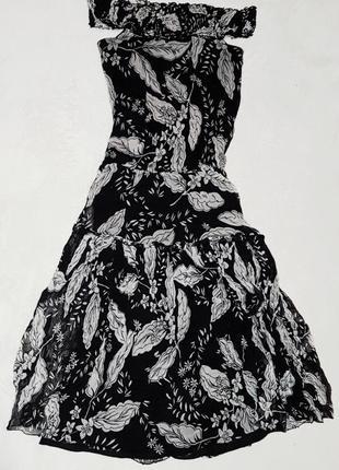 Платье шелковое  жатый шелк 100 %  оригинал !