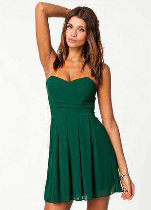 Роскошное шифоновое платье tfnc london новое