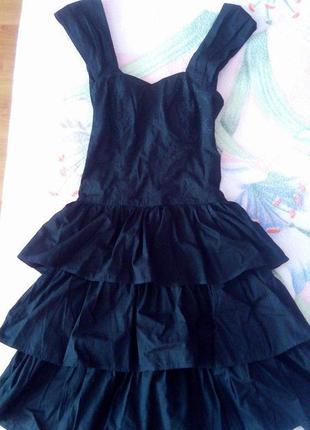 Супер платье с рюшами