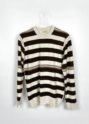 Шерстяной тёплый свитер