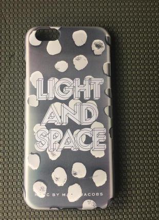 Стильный чехол light & space by mark jacobs  на айфон iphone 6, 6s