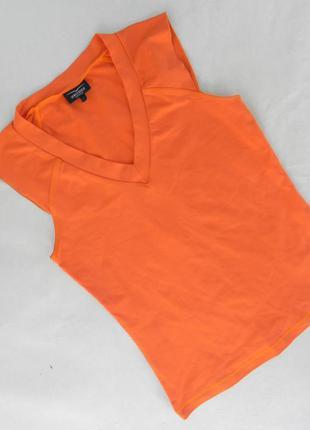 Майка футболка оранжевая venice
