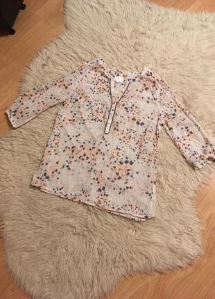 Блуза летняя хлопок m