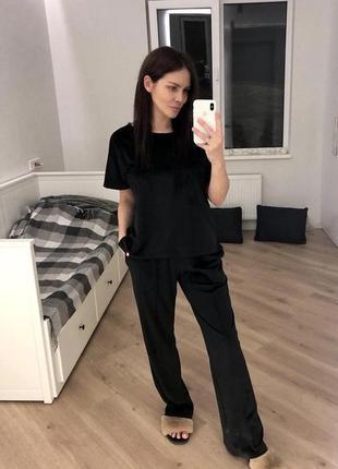 🔥костюм велюр 🔥бархат пижама одежда для дома піжама