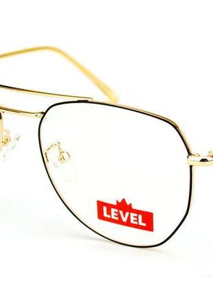 Очки для работы за компьютером авиаторы level 1932