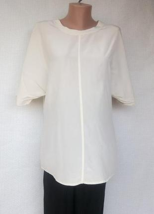 Шелковая блуза otto kern/germany