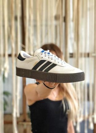 Adidas samba white/blue🆕 шикарные кроссовки адидас🆕 купить наложенный платёж