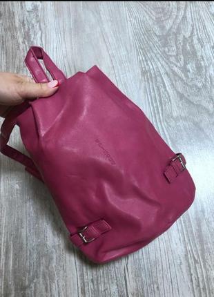 Рюкзак б/у эко-кожа