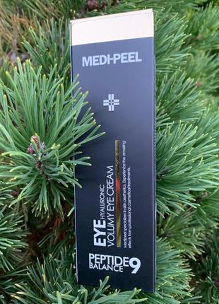 Омолаживающий крем для век с пептидами medi-peel peptide 9 eye hyaluronic volumy eye cream