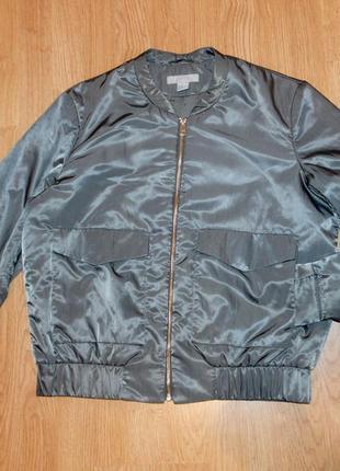Бомпер (куртка-пилот) h&m 10р/170см