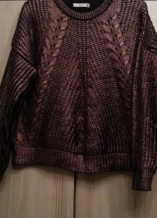 Вязаный свитер dilvin с напылением