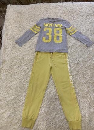 Стильный набор для мальчика 6-8 лет.  h&m